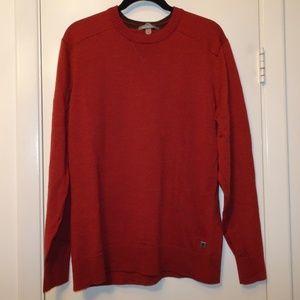 Smartwool Crewneck Sweater | Burnt Orange | Large